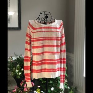 Sanctuary Striped Loose Knit Sweater
